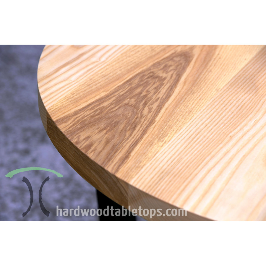 Round Custom Made Hardwood Table Top Builder Inches - Custom restaurant table tops