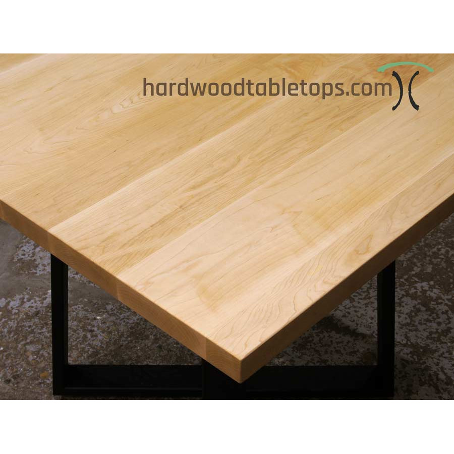 Restaurant Size Hardwood Table Top Builder Quick Ship - 4 top restaurant table