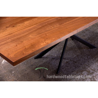 Custom Wide Plank Dining - Conference Table Builder with Leg Options