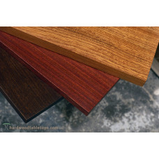 Sapele slab table tops - thick plank tables 1.75""