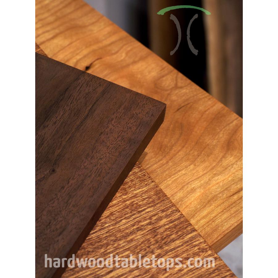 Restaurant Size Hardwood Table Top Builder, Quick Ship