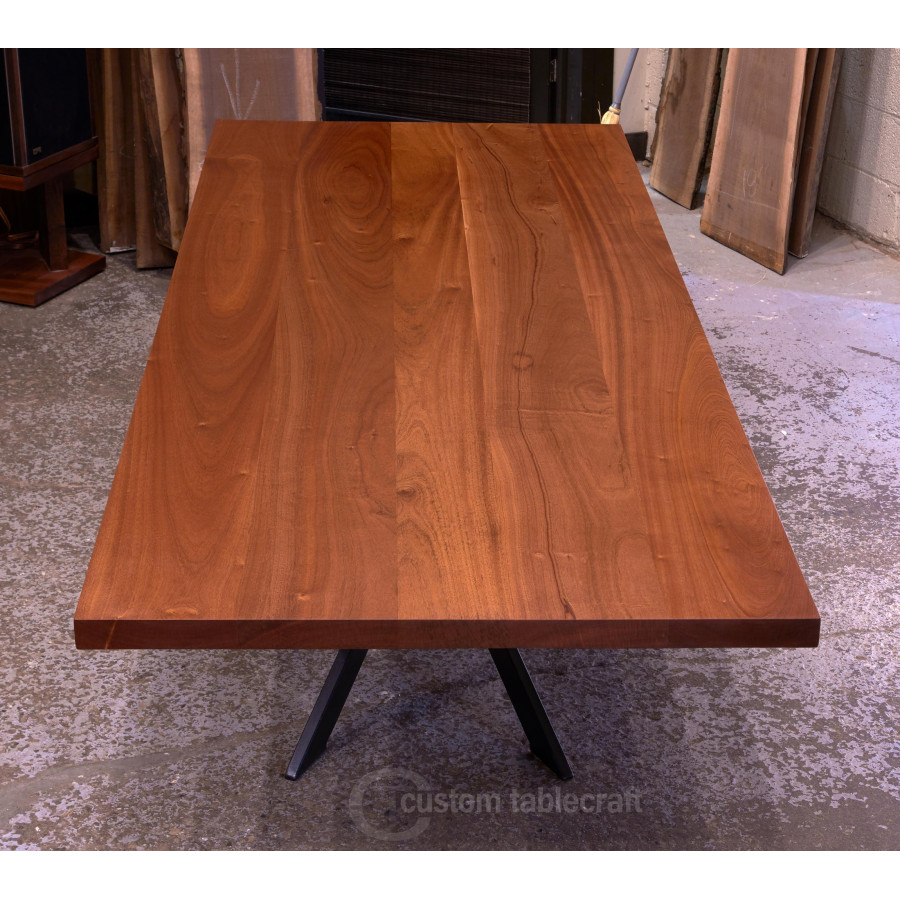 Thick Slab Sapele Table Tops Quick Ship Stained Or Natural