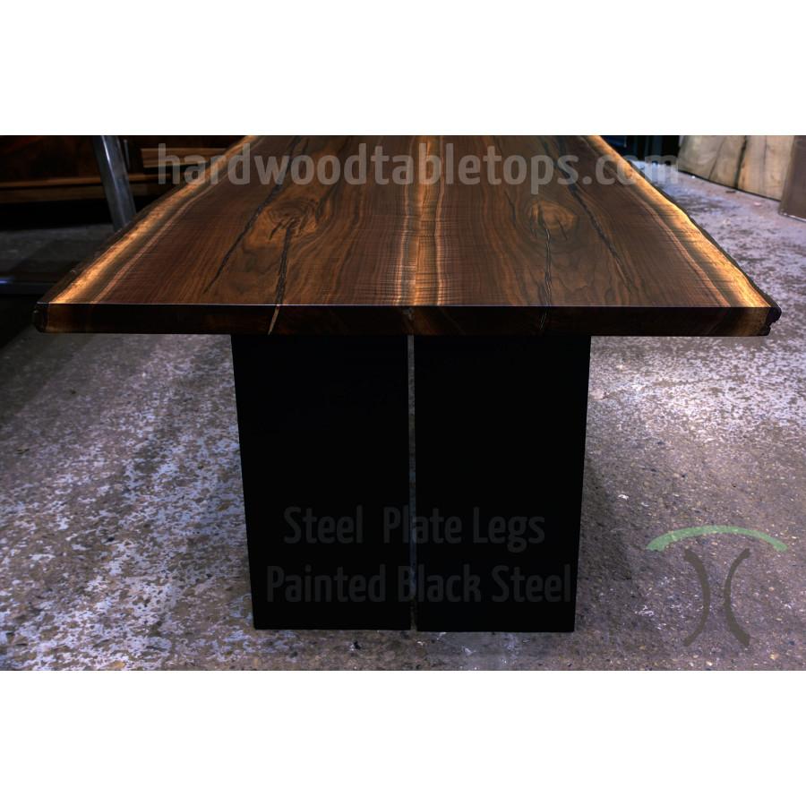 Live Edge Black Walnut Dining Table Configurator