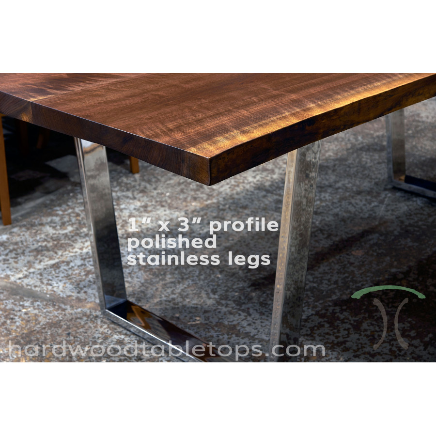 ... Custom Steel And Stainless Trapezoid Table Legs ...