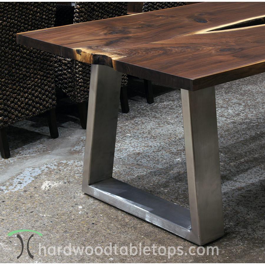 Custom Steel And Stainless Tzoid Table Legs