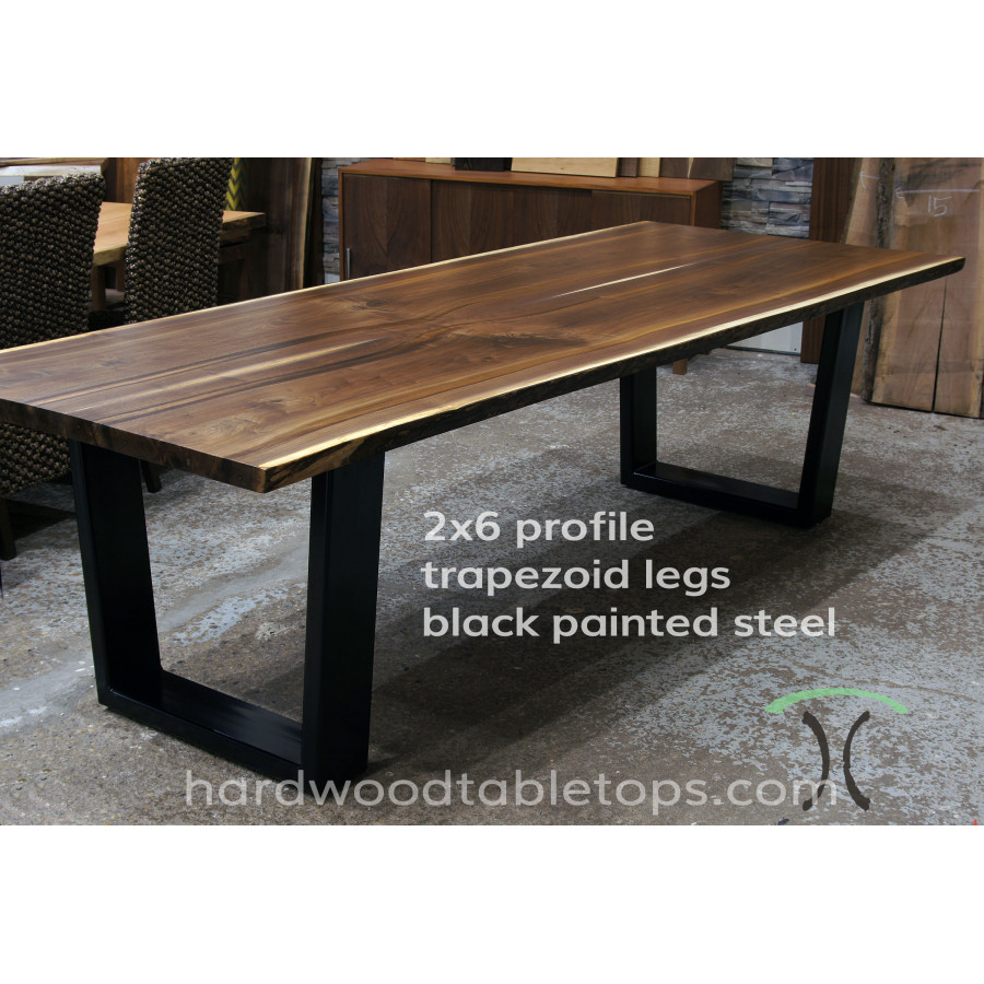 Live edge slab dining table reclaimed spruce live edge for 6 furniture legs canada