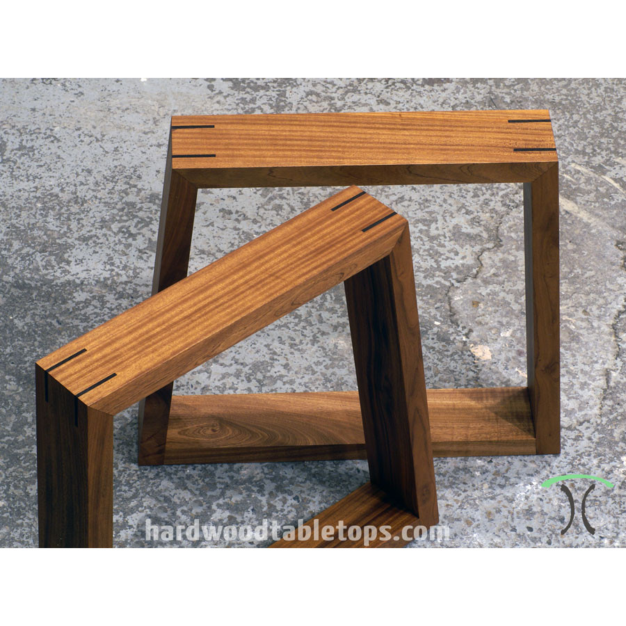 Delicieux ... Custom Made Trapezoid Legs In Solid Hardwood ...