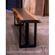 Live Edge Walnut Console Table and Bench Configurator