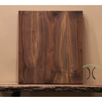 "Solid Black Walnut Cafe or End Table Top, 20"" x 23.5"" x 1.5"" 296"