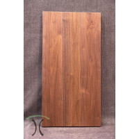 "Solid Black Walnut Cafe or End Table Top, 37"" x 19"" x 1.625"" 3007"