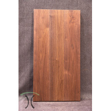 """Solid Black Walnut Cafe or End Table Top, 37"""" x 19"""" x 1.625"""" 3007"""