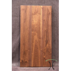"""Solid Black Walnut Cafe or End Table Top, 37"""" x 19"""" x 1.625"""" 3008"""