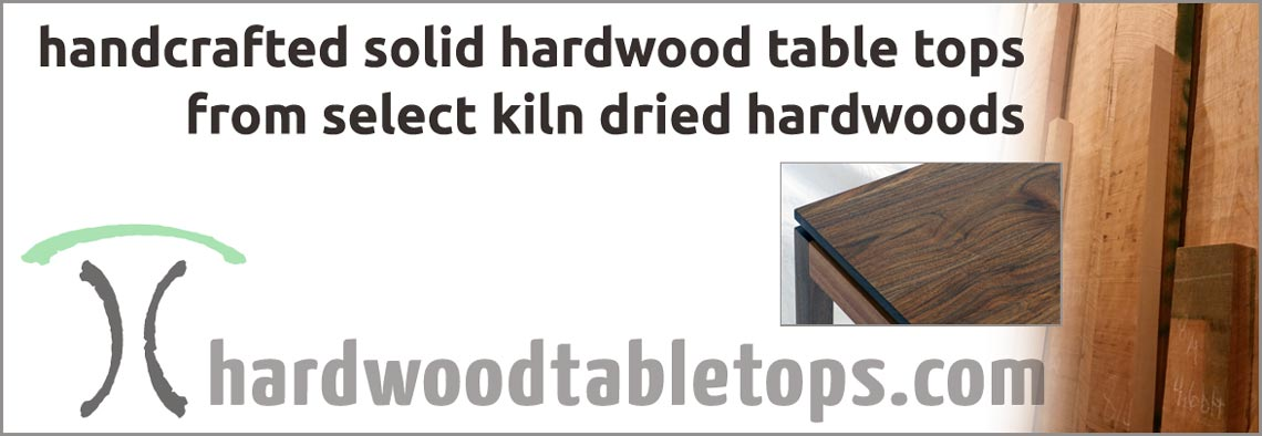 Heirloom quality solid wood tables and live edge table tops