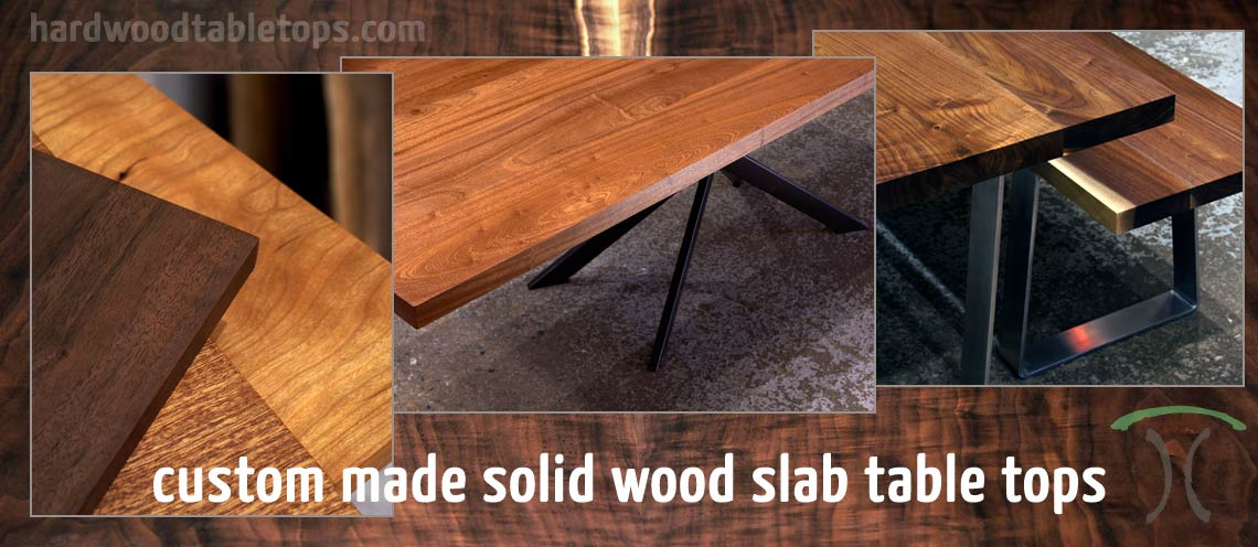 Custom Made Solid Wood Slab Table Tops   Customized To Your Dimensions And  Thickness From Hardwoodtabletops
